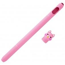 Чехол TPU Coteetci для стилуса Apple Pencil 1 Pink (CS7073-PK-1A)