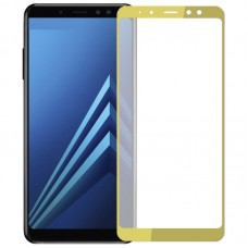 Защитное стекло Optima Full cover для Samsung Galaxy A530 A8 2018 Gold