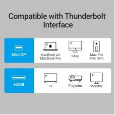 Адаптер MiniDisplayPort-HDMI Vention 1080P 60Hz Black (HBCBB)