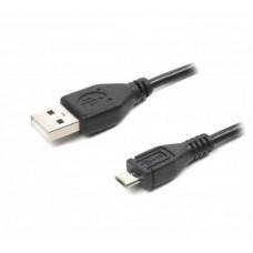 Кабель USB-MicroUSB B Maxxter 1.2m Black