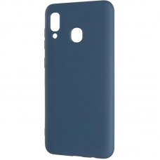Чехол накладка TPU SK Full Soft для Xiaomi Redmi Note 7 Blue