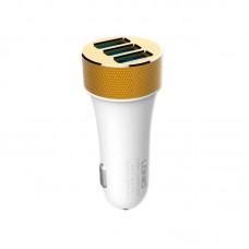 Адаптер автомобильный Ldnio 3 USB 5.1A DL-C50 белый