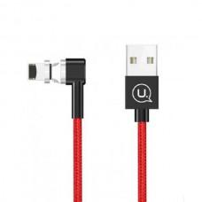 Кабель USB-Lightning Usams US-SJ148 Magnet U-Boss iPhone 1m Red