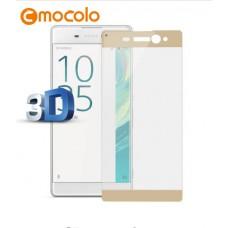 Защитное стекло Mocolo 3D для Sony Xperia XA1 золотистый