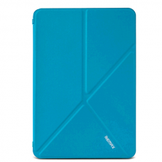 Чехол книжка кожаный Remax Transformer для iPad Pro 9.7 синий
