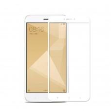 Защитное стекло Optima Full cover для Xiaomi Redmi 5a White