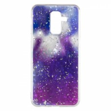 Чехол накладка TPU Baseus Light Stone для Samsung J250 J2 2018 Violet