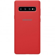 Чехол накладка TPU SK Soft Matte для Samsung G975 S10 Plus Red