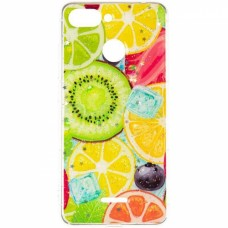 Чехол накладка TPU SK Summer Fruit для Samsung M205 M20 Mix Fruit