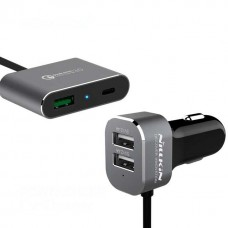 АЗУ Nillkin 3USB 3A Fast Charger + cable Type-C NKC-05 Grey