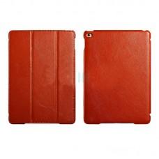 Чехол книжка PU Icarer Litchi Smart для Apple iPad Air 2 rid 601 Brown