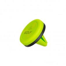 Автодержатель Golf GF-CH02 Magnet на решетку воздуховода зеленый