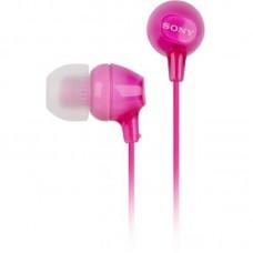Наушники вакуумные Sony MDR-EX15LP Pink
