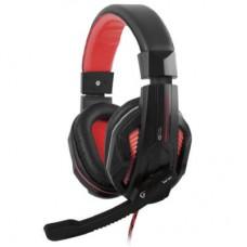 Наушники гарнитура накладные Gemix W-360 Gaming Black/Red