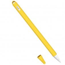 Чехол TPU Goojodoq Hybrid Ear для стилуса Apple Pencil 2 Yellow