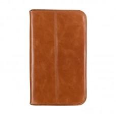 Чехол книжка кожаный WRX Premium для LG G Pad 8.3 V500 коричневый Лак