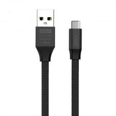 Кабель USB-Type-C Golf Soft GC-52t Black
