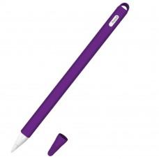 Чехол TPU Goojodoq Hybrid Ear для стилуса Apple Pencil 2 Violet
