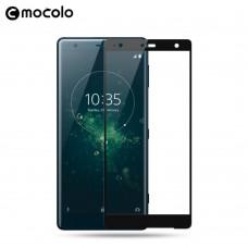 Защитное стекло Mocolo 3D для Sony Xperia XZ2 Black