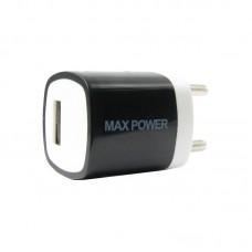 Адаптер автомобильный MaxPower One 1USB 1A Black