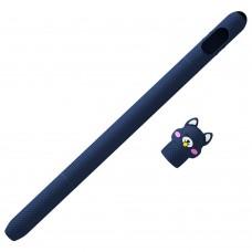 Чехол TPU Coteetci для стилуса Apple Pencil 1 Blue (CS7073-BL-1A)