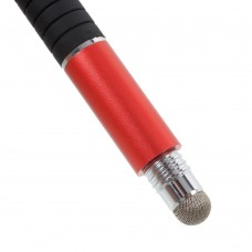 Стилус ручка SK 3 в 1 Capacitive Drawing Point Ball Red