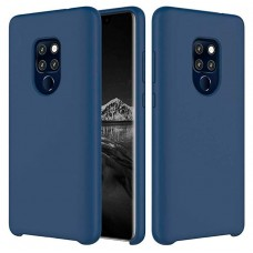Чехол накладка TPU SK Soft Matte для Huawei Mate 20 Dark Blue