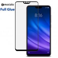 Защитное стекло Mocolo Full Glue для Xiaomi Mi8 Lite черный