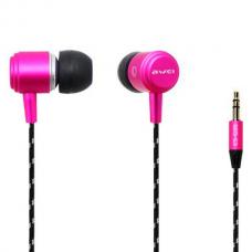 Наушники вакуумные Awei ES-Q35 розовый