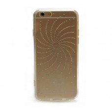 Чехол накладка TPU Diamond Younicou для iPhone 5 5S SE Sun Shine