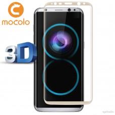 Защитное стекло Mocolo 3D для Samsung Galaxy S8 Plus золотистый