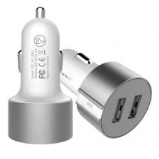 Адаптер автомобильный Nillkin 2USB 3.4A Vigor Silver