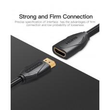 Удлинитель HDMI-HDMI v.2.0 Vention F/M PVC Shell 4K 60Hz 18Gbps gold-plated 5m Black (VAA-B06-B500)