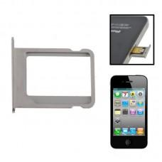 SIM приёмник SK для iPhone 4 4S Silver