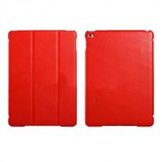 Чехол книжка PU Icarer Litchi Smart для Apple iPad Air 2 rid 601 Red