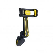 Автодержатель Remax OR RM-C24 на решетку воздуховода черный желтый