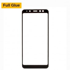 Защитное стекло Optima 3D Full Glue для Samsung A730 A8 Plus 2018 Black