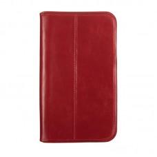 Чехол книжка кожаный WRX Premium для LG G Pad 8.3 V500 красный Лак