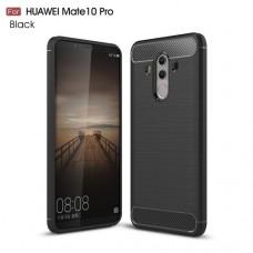 Чехол накладка TPU SK Fiber Carbon для Huawei Mate 10 Pro Black