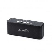Колонка портативная Bluetooth Wster WS-1519BT Black