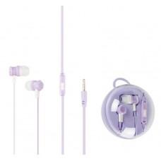 Наушники гарнитура вакуумные Keeka MC96 Promo Box Violet