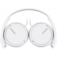 Наушники гарнитура накладные Sony MDR-ZX110AP White
