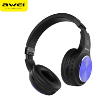 Наушники гарнитура накладные Bluetooth Awei A600BL Black