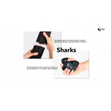 Колонка портативная Bluetooth Krazi Shark KZBS-003 Black