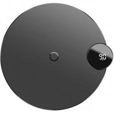 Беспроводное зарядное устройство Baseus LED Display Wireless Charger WXSX-01 Black