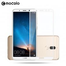 Защитное стекло Mocolo Full сover для Huawei Mate 10 Lite белый