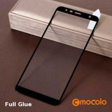 Защитное стекло Mocolo Full Glue для Samsung J6 Plus J610 Black