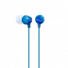 Наушники вакуумные Sony MDR-EX15LP Blue