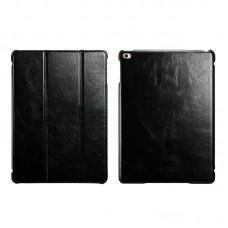 Чехол книжка кожаный Icarer Vintage Smart для Apple iPad Air 2 rid 602 черный