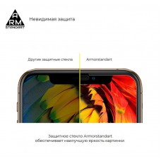 Защитное стекло Armorstandart Full Glue для Samsung A20 A205 Black (ARM55122-GFG-BK)